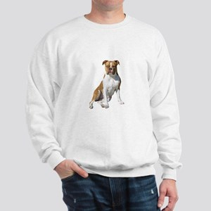 Am Bulldog 2 (Brn-W) Sweatshirt