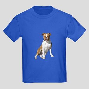 Am Bulldog 2 (Brn-W) Kids Dark T-Shirt