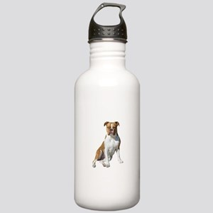Am Bulldog 2 (Brn-W) Stainless Water Bottle 1.0L