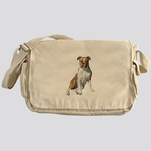 Am Bulldog 2 (Brn-W) Messenger Bag