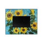 sunflower impressions Picture Frame