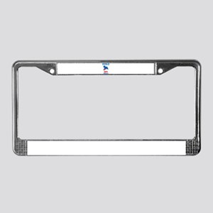 Jack Russell Terrier License Plate Frame