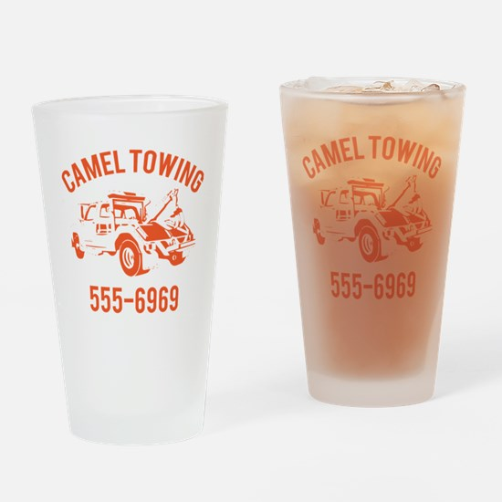 Cool Tow truck Drinking Glass