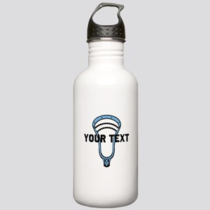 Lacrosse Personalize Head CBlue Water Bottle