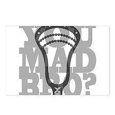 Lacrosse YouMadBro Postcards (Package of 8)