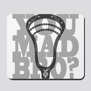 Lacrosse YouMadBro Mousepad