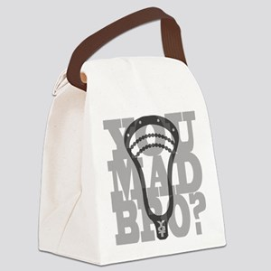 Lacrosse YouMadBro Canvas Lunch Bag