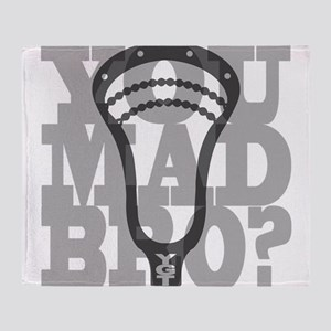 Lacrosse YouMadBro Throw Blanket