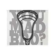 Lacrosse YouMadBro Throw Blanket