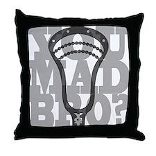 Lacrosse YouMadBro Throw Pillow