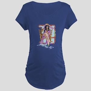 Tarot Queen of Cups Maternity T-Shirt
