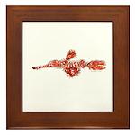 Harlequin Ghost Pipefish Framed Tile