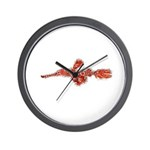 Harlequin Ghost Pipefish Wall Clock
