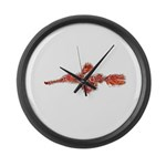 Harlequin Ghost Pipefish Large Wall Clock