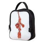 Harlequin Ghost Pipefish c Neoprene Lunch Bag
