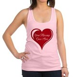 Valentines day Womens Racerback Tanktop