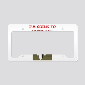BOWLING License Plate Holder