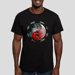 TaiChi Men's Fitted T-Shirt (dark)