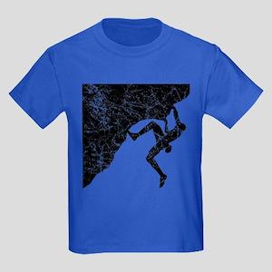 Climber Overhang Kids Dark T-Shirt