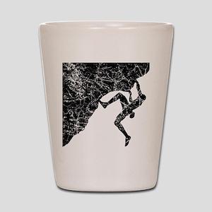 Climber Overhang Shot Glass