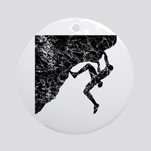 Climber Overhang Ornament (Round)