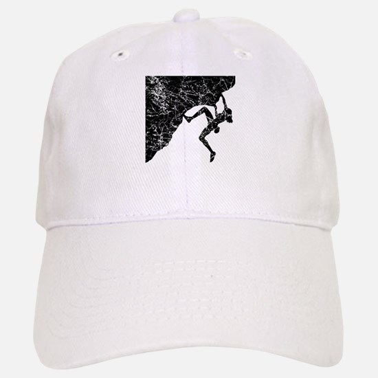 Female Climber Overhang Baseball Baseball Cap