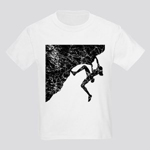 Female Climber Overhang Kids Light T-Shirt