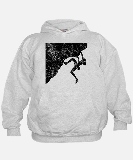 Female Climber Overhang Hoodie