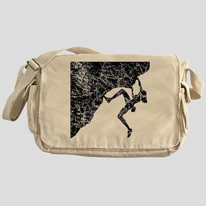 Female Climber Overhang Messenger Bag