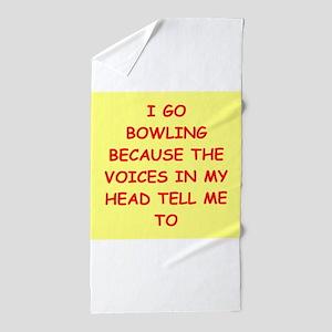 bowling Beach Towel