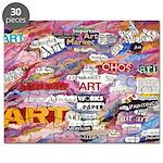 art collage Puzzle