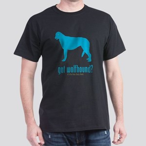 Irish Wolfhound Dark T-Shirt
