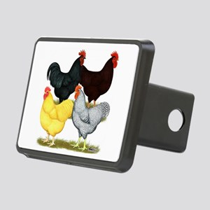 Heavy Breeds Rooster Quartet Hitch Cover