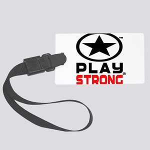 Play Strong Oval Star Luggage Tag