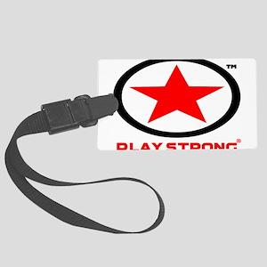 Play Strong Star Logo Luggage Tag