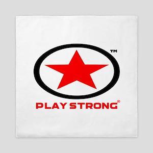 Play Strong Star Logo Queen Duvet
