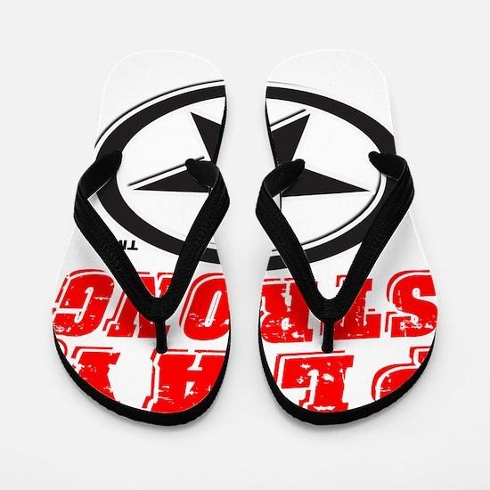 Play Strong Star Flip Flops