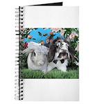 Beatrix and Dudley-June Wedding Bunnies Journal