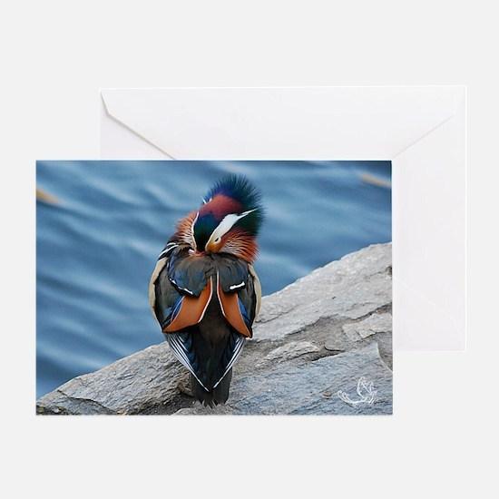 Mandarin Geisha Ii Greeting Card