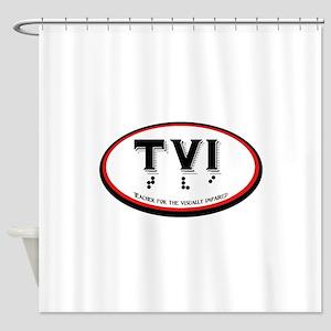 TVI OVAL Shower Curtain