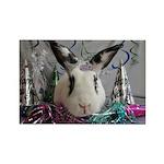 Della-New Years Bunny Magnets