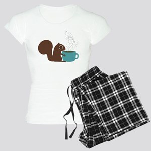 Coffee Squirrel Women's Light Pajamas