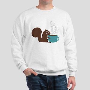Coffee Squirrel Sweatshirt