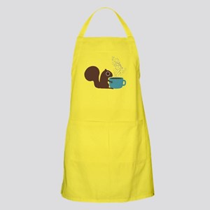 Coffee Squirrel Apron