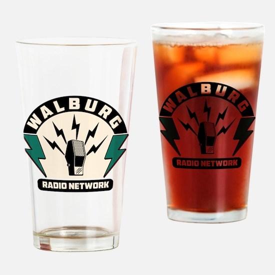 Walburg Radio Network Drinking Glass