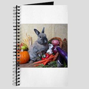 Teddy-Cornucopia Bunny Journal