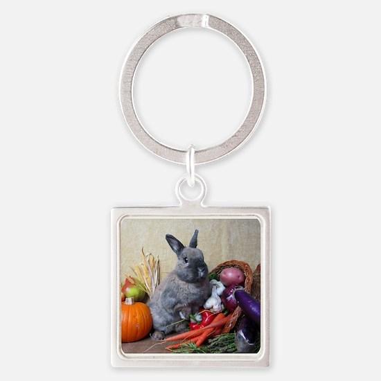 Teddy-Cornucopia Bunny Keychains