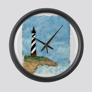 lighthouse2 Large Wall Clock