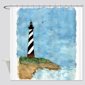 lighthouse2 Shower Curtain
