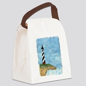 lighthouse2 Canvas Lunch Bag